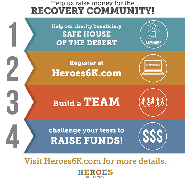 Charity Graphic for Heroes6K