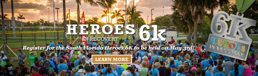 South Florida Heroes in Recovery 6K 2014