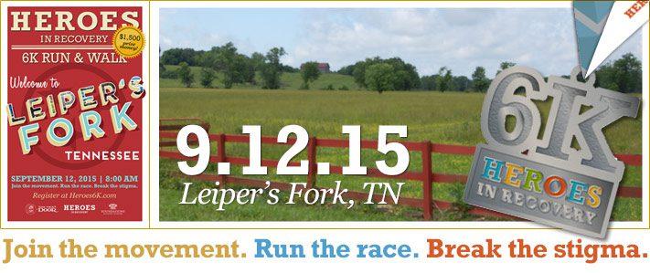 Leiper's Fork Heroes 6K 2015
