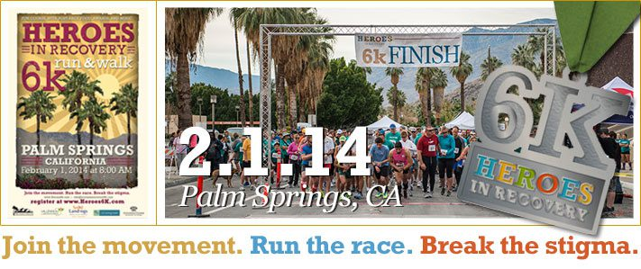 Palm Springs Heroes in Recovery 6K 2014
